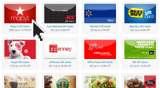 Browse Our Huge Gift Card Selection